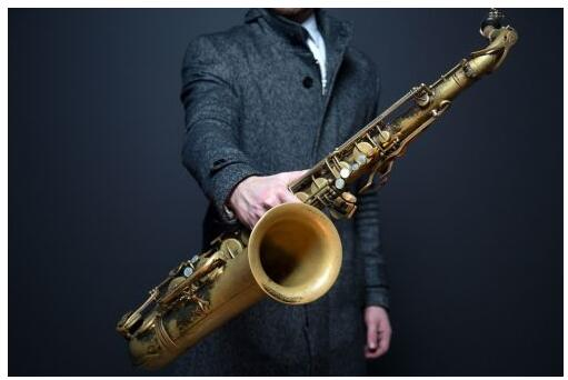 The saxophone is an example of musical instruments made of brass